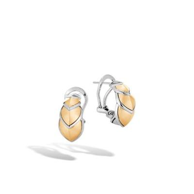 Legends Naga Two-Tone Buddha Belly Earrings