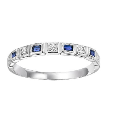 Sapphire Diamond BAND