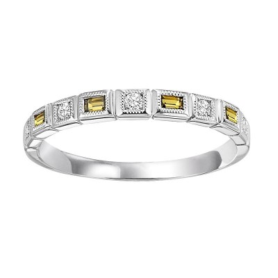 CITRINE Diamond BAND