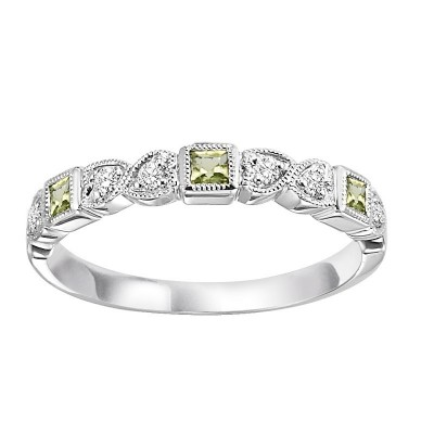 PERIDOT Diamond BAND