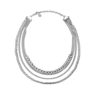 Asli Classic Chain Multi Row Necklace