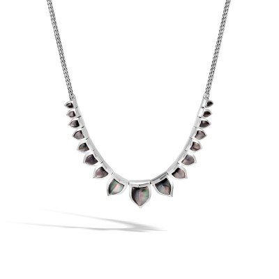 Legends Naga Necklace with Grey Mother of Pearl