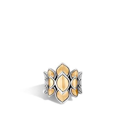 Legends Naga Two-Tone Saddle Ring