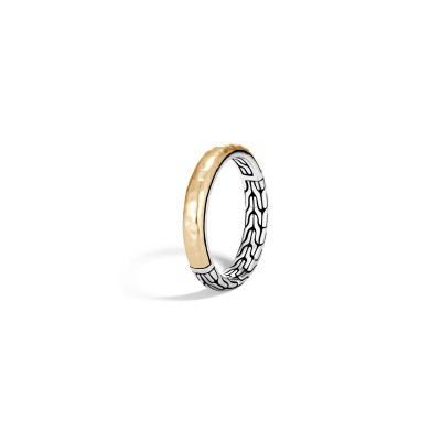 Classic Chain Two-Tone Hammered Band