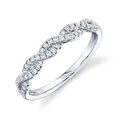 0.22ct 14k White Gold Diamond Lady's Ring
