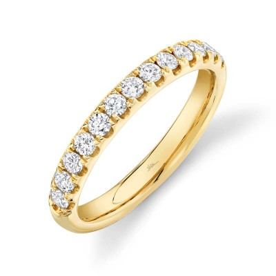 0.55ct 14k Yellow Gold Diamond Lady's Band