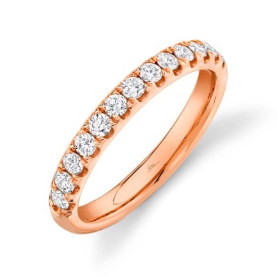 0.55ct 14k Rose Gold Diamond Lady's Band