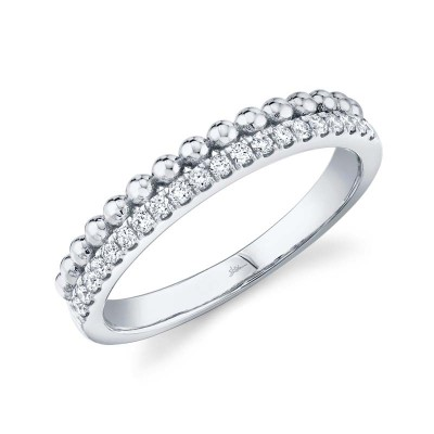 0.18ct 14k White Gold Diamond Lady's Ring