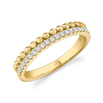 0.18ct 14k Yellow Gold Diamond Lady's Ring