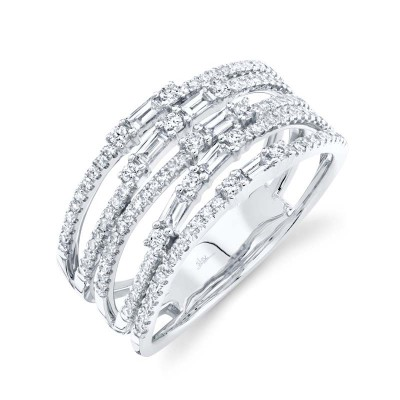 0.67ct 14k White Gold Diamond Lady's Ring