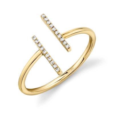 0.06ct 14k Yellow Gold Diamond Lady's Ring
