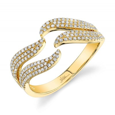0.35ct 14k Yellow Gold Diamond Lady's Ring
