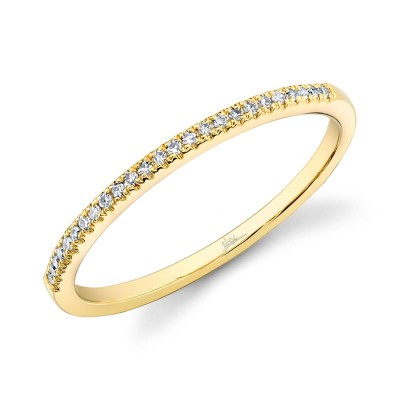 0.08ct 14k Yellow Gold Diamond Lady's Ring
