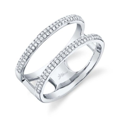 0.30ct 14k White Gold Diamond Lady's Ring