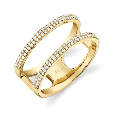0.30ct 14k Yellow Gold Diamond Lady's Ring