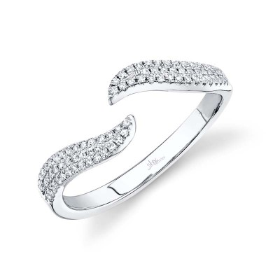 0.17ct 14k White Gold Diamond Lady's Ring