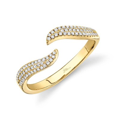 0.17ct 14k Yellow Gold Diamond Lady's Ring