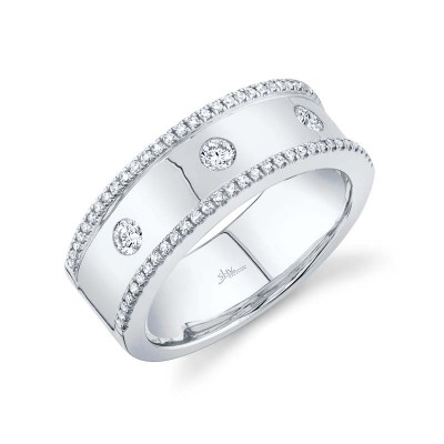 0.35ct 14k White Gold Diamond Lady's Ring