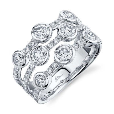 1.58ct 14k White Gold Diamond Lady's Ring