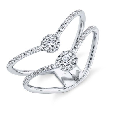 0.30Ct 14k White Gold Diamond Lady's Ring