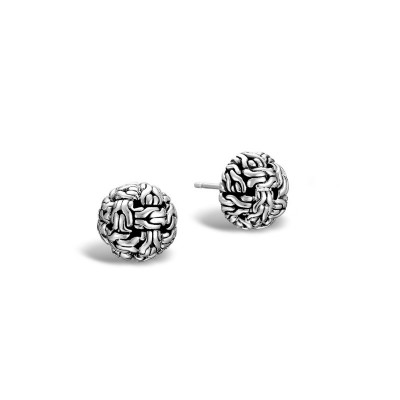 Classic Chain Knot Stud Earrings
