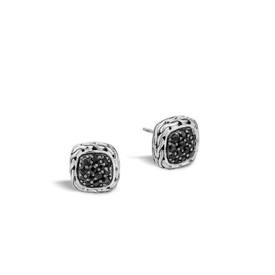 Classic Chain Small Square Earrings