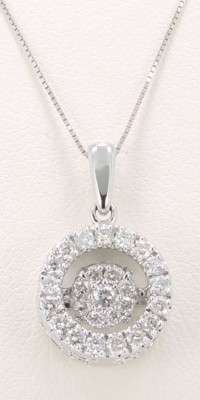 Rhythms of Love Diamond Pendant