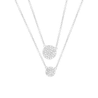 Diamond PAVE CIRCLE Necklace