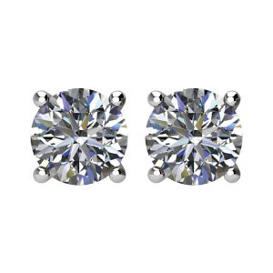 1 1/2 Carat tw Diamond Stud Earrings