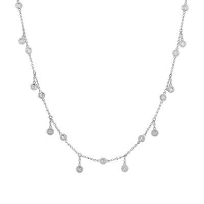 Diamond DNGL Necklace