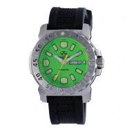Green Dial Blk Gryphon Strap
