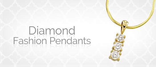 Diamond Fashion Pendants