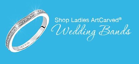 Ladies Diamond Wedding Bands