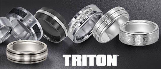 Triton Men's Wedding Bands