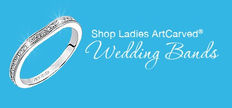 Ladies Diamond Wedding Bands