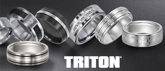 Triton Men's Wedding Bands