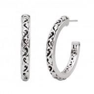 Sterling Silver Earrings 30mm