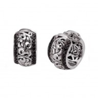 Sterling Silver & 14kw Earrings