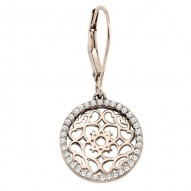 Ladies Fancy Circle Diamond Necklace