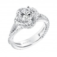 Ivy Diamond  Engagement  Ring