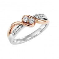 Ladies Twogether Ring
