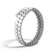 Dot Double Coil Bracelet