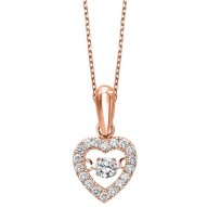 "HEART ""Rythm Of Love"" Necklace"