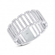 Diamond  BARS Ladies Ring