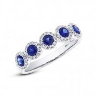 Diamond/BLUE Sapphire LADY