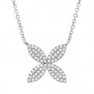 Diamond FLOW Earrings Necklace
