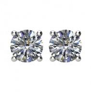 1 1/2 Carat tw Diamond Stud Earrings