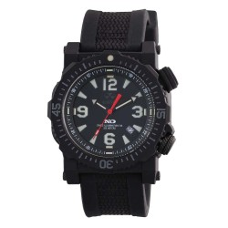 Blk Dial Blk Rbr Nyln Strap