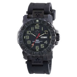 Blk Dial Blk Rubber Band