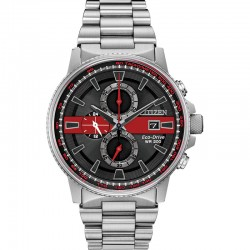 Men's Thin Red Line Nighthawk Watch For Fire Fighters